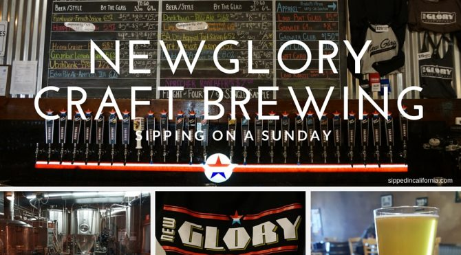Sunday Sipping at New Glory Craft Brewery
