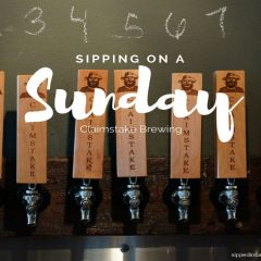 Sunday Sipping at Claimstake Brewing
