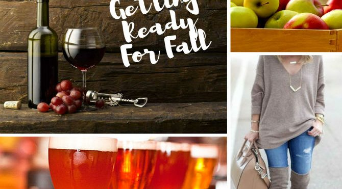10 Things I do that get me excited for Fall
