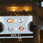 San Diego State Arrives at Golden 1 Center