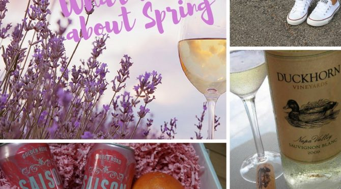 10 Things I do that get me excited for Spring