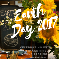 Earth Day – A SIP Certified Wine & Food Pairing Party